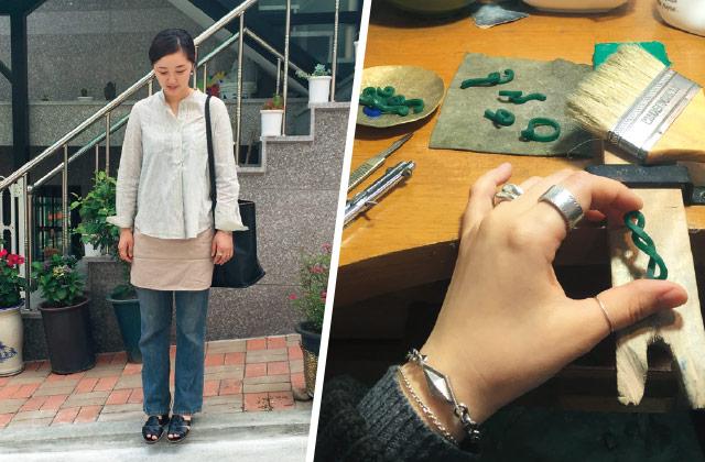 [걷는 여자] 주얼리 디자이너의 반짝반짝 산책코스
