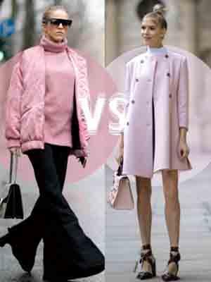 [스타일링 VS] 컬러풀 코트, 어떻게 입을까??