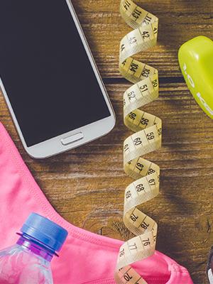 다이어트를 돕는 앱