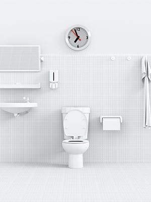 수분크림 200% 흡수하는 욕실 스킨 워밍업