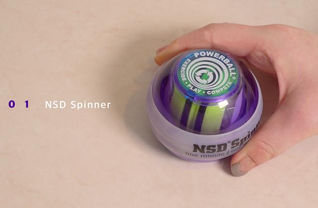 가만히 앉아서도 할 수 있는 신박한 운동 없을까? : 손목증후군 안녕, NSD Spinner의 썸네일 이미지
