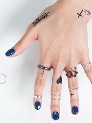 [HOW TO] 니트와 잘 어울리는 반지 레이어링