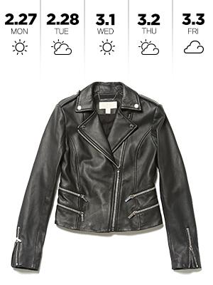간절기엔 라이더 재킷