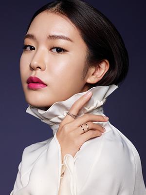 [TREND SNAPBOOK] 배우 정유진의 2017 스프링 메이크업 룩