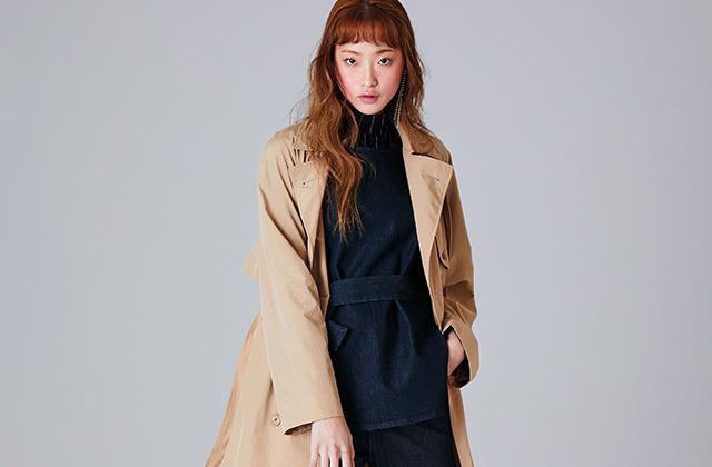 트렌치 코트 예쁘게 입는 방법의 썸네일 이미지