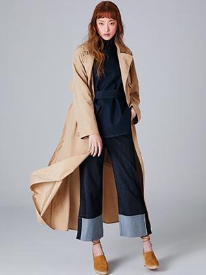 트렌치 코트 예쁘게 입는 방법