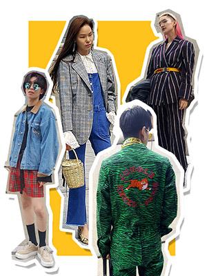 서울패션위크에 무슨 옷을 입고 갈까?