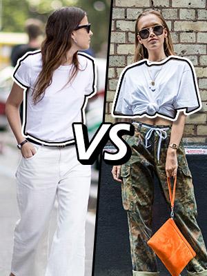 [스타일링 VS] 티셔츠 멋지게 입는 법