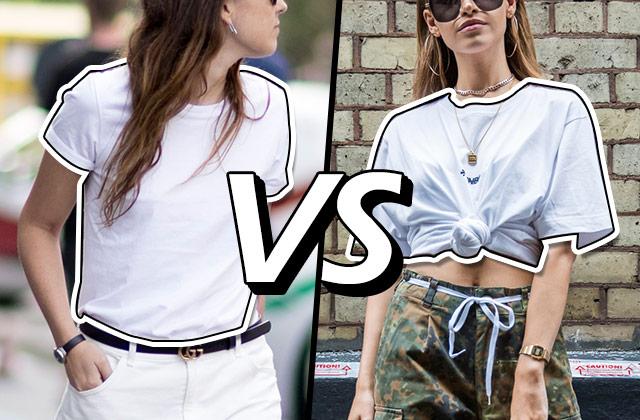 [스타일링 VS] 티셔츠 멋지게 입는 법의 썸네일 이미지