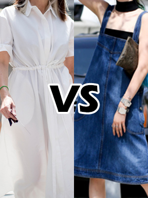 셔츠 원피스 vs 데님 원피스