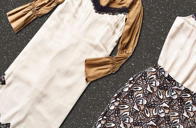 슬립 드레스의 낮과 밤 스타일링의 썸네일 이미지