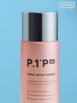 [BEAUTY] P1P.AC 핑크 스킨 토너