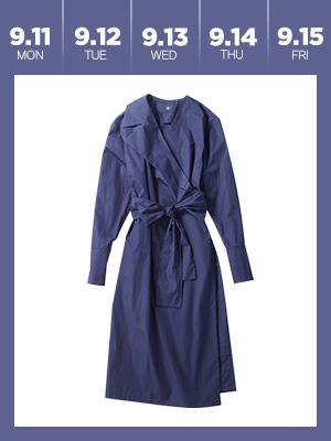 이번 주엔 랩 드레스