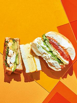 속 보이는 샌드위치