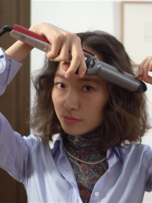 [BEAUTY] 비달사순 매직샤인 컬링 아이론 - 단발 웨이브편