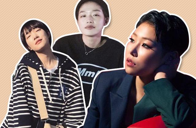 스타들의 쇼트 커트 스타일링 비법