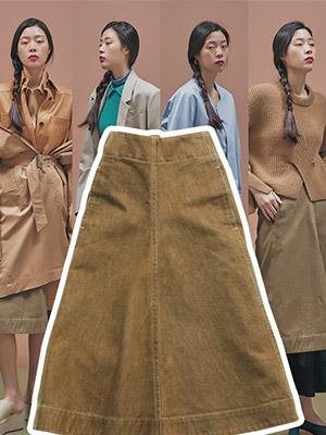 출근을 위한 아이템, denim skirts