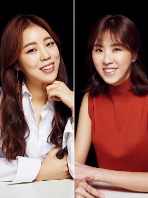 운동으로 행복을 찾다 1. 유지예, 김한나