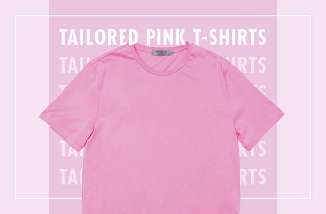 분홍색이 이렇게 예뻤나? 핑크 티셔츠 4 Ways