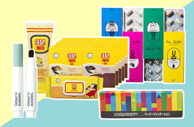 패키지가 특이한 화장품 3 의 썸네일 이미지