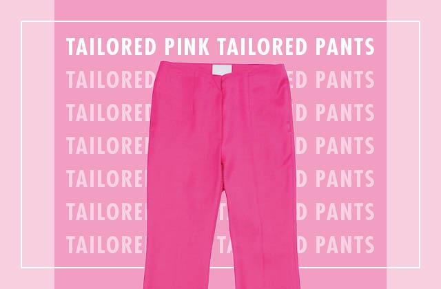 한 여름, 긴 바지를 입어야 한다면? 핑크 테일러드 팬츠 4 WAYS의 썸네일 이미지