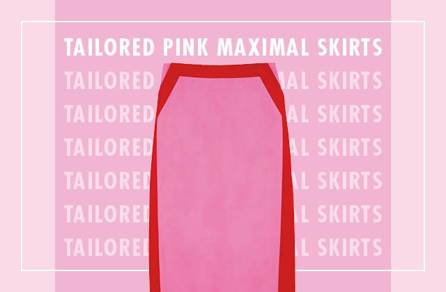 단정하고 점잖은 핑크 맥시스커트 4 WAYS의 썸네일 이미지