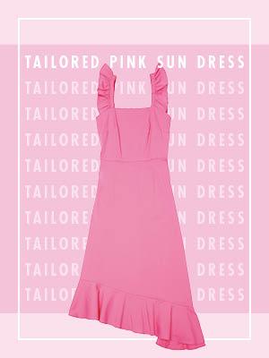 생기 넘치는 핑크 선드레스 4 WAYS