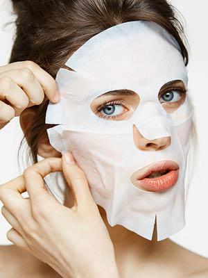 예민한 피부엔 거즈 마스크