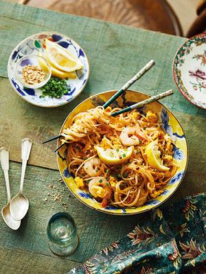 일본, 태국, 이탈리아의 식탁
