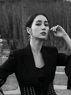 배우 이민정의 스프링 룩