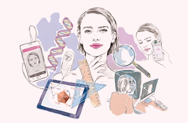 진화된 피부 진단 서비스의 썸네일 이미지