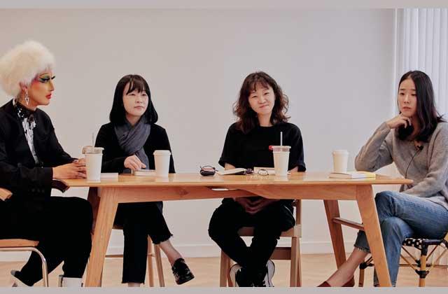 차별과 혐오 없는 세상을 꿈꾸는 네 명의 인터뷰이와 함께 의미 있는 대화를 나눴습니다. 의 썸네일 이미지