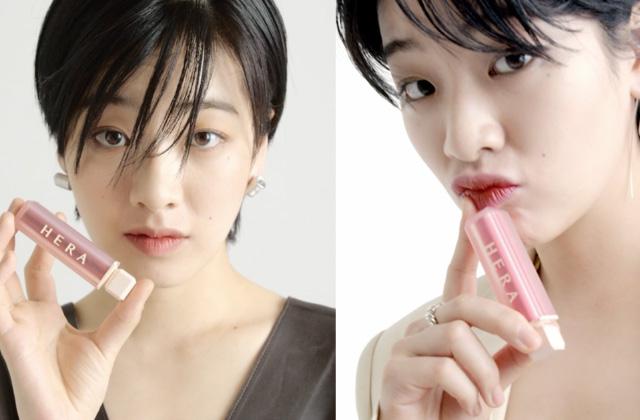 헤라 스파이시 누드 볼륨 매트 립스틱을 완벽하게 소화한 배우 이주영의 썸네일 이미지