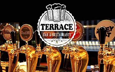 테라스 있는 술집